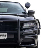 Go Rhino Dodge Charger Push Bumper with Heavy Duty Wrap 2006-2019