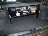 Charger Slide Out Trunk Tray Organizer with Option to add additional drawer by Havis 2011-Present
