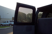 Ford E-Series Extended Van with Sliding Door and 8 Window Guard Kit by Havis 1994-2014