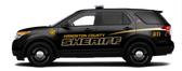 Ford Interceptor SUV Utility (Explorer) Police Vehicle Graphics Decal Kit FS-47