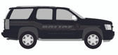 Tahoe Police Vehicle Graphics Decal Kit FS-10