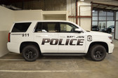 Tahoe Police Vehicle Graphics Decal Kit FS-12