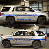 Tahoe Police Vehicle Graphics Decal Kit FS-11