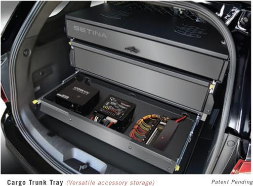 Ford Police Interceptor SUV Utility and Explorer Storage Organizer Rear Cargo Box by Setina ...