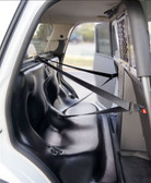 PTS Tahoe Police Plastic Rear Prisoner Transport Seat System with Cargo Barrier