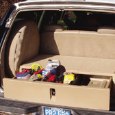 SUV Rear Cargo Caddy Storage System and Organizer by EPI