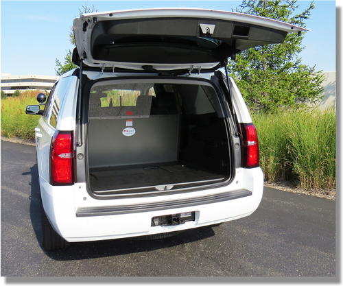 Tahoe 2015 Cargo Barrier Rear Partition Cage By Progard Fleet Safety