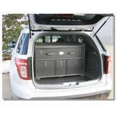 Ford Police Interceptor SUV Utility Explorer 2018-2019 Cargo Cabinet Storage Organizer Unit by Progard