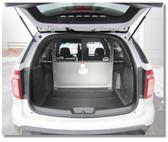 Ford Police Interceptor SUV Utility Explorer Rear Cargo Barrier by Progard, 2013-2019