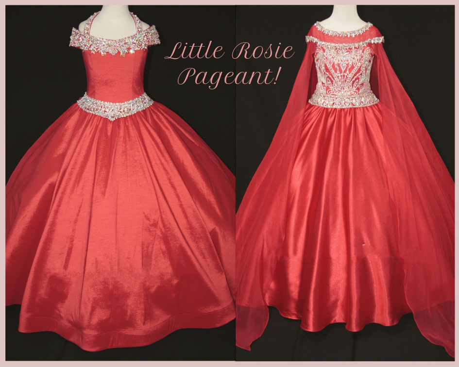 a3595a1a963 Pageant Dresses By Little Rosie