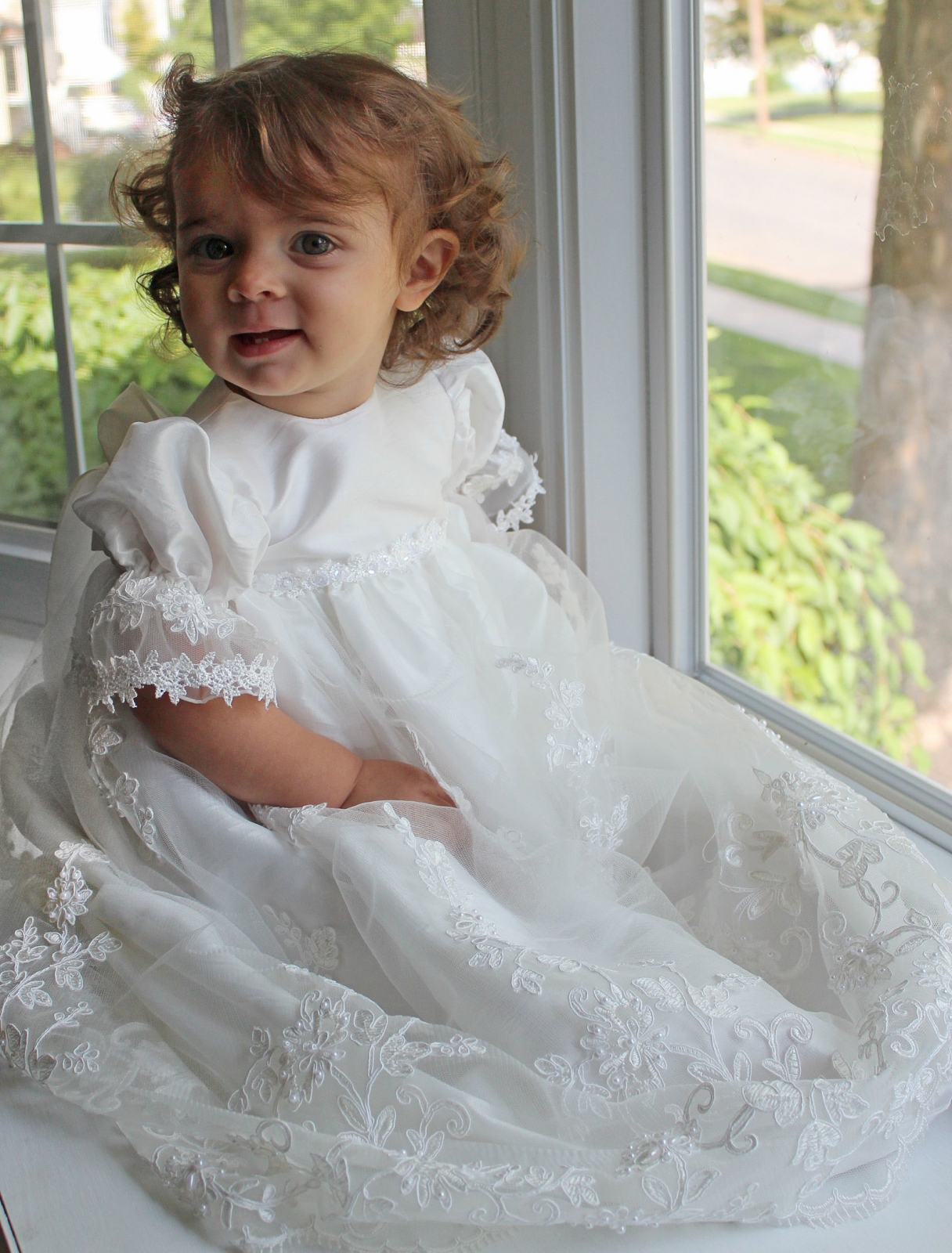 f80b546a846 Macis Design baptismal dresses are couture style dresses each created with  your child in mind. Every Macis infant christening dress is constructed  with the ...