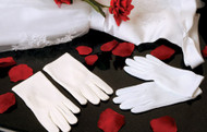 Kids First Communion Gloves | Wedding Flower Girl Gloves
