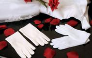 Kids First Communion Gloves | Wedding Flower Girl Gloves