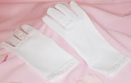 Kids 1st Communion Gloves | Wedding Flower Girl Gloves