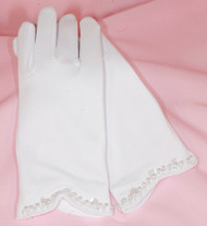 Children First Communion Gloves | Flower Girl Gloves