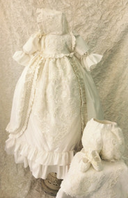 Couture Baby Boy Or Girl Christening Dress | Couture Christening Gown
