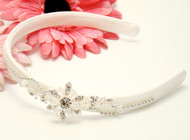 1st Communion Swarovski Head Band | Headband For Flower Girl