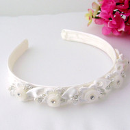 Flower Girl Head Band | First Communion Floral Head Band