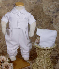 Little Things Mean A Lot Handsome Vested Gabardine Coverall - LTMGBG501S