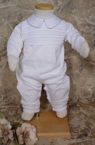 Little Things Mean A Lot - Boys Christening Suit - LTMCKNIT1L