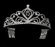 Sweet 15 Tiara | Tiara For Sweet 16 Birthday | Quinceanera Tiara
