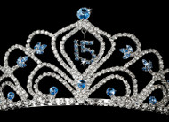 Sweet 16 Tiara | Birthday Tiara For Sweet 16 | Sweet 15 Tiara