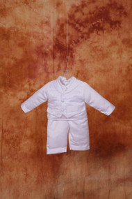 Sweetie Pie Christening Suit - Boys Christening Suit - SWCI345B