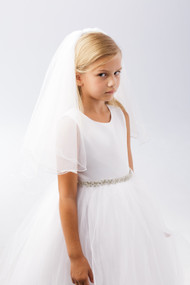 Girls Veil For Communion | Veil For First Holy Communion