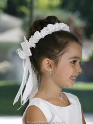 First Communion Wreath | Flower Girl Halo | Flower Wreath For Girls
