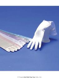 First Communion Long Gloves | Satin Long Length Gloves For Girls