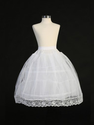Hoop Petticoat For Girls | First Communion Crinoline Slip