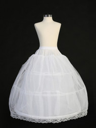 Flower Girl  Hoop Petticoat | First Communion Crinoline Slip