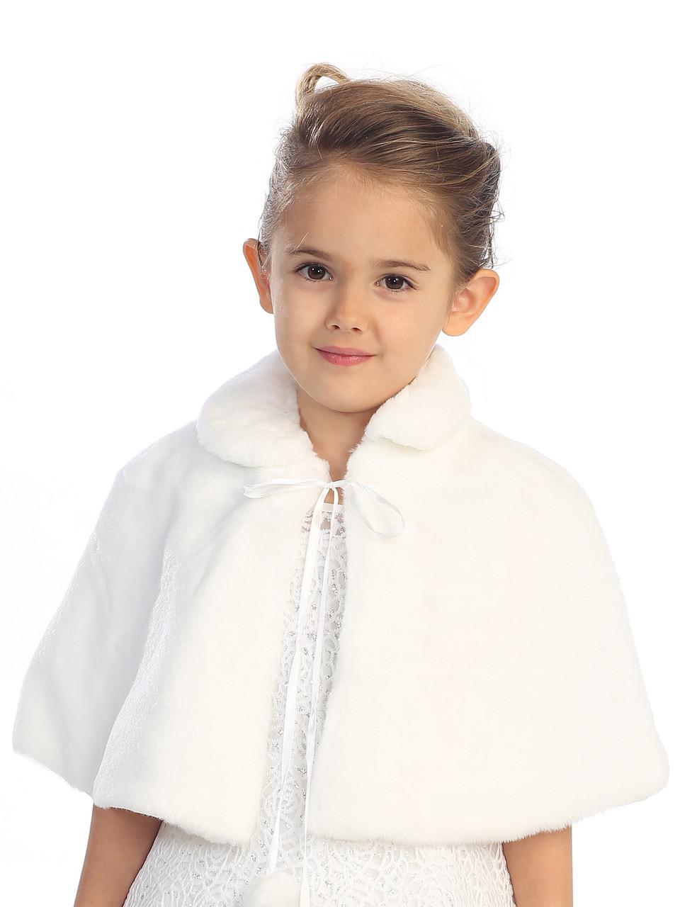 0f445c272 Girls Fur Cape