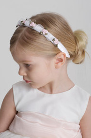 US Angels Flower Girl Headband - First Communion Headband