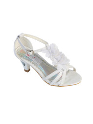 White Dress Shoes For Girls | Fancy Dress Shoes For Wedding Flower Girls
