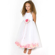 Little Girl Flower Party Dress For Formal Event