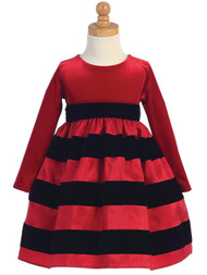 Cute Red Dress For Baby Girls Special Occasion