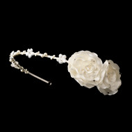 Flower Headband For Girls | First Communion Headband