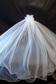 Girls Communion Veil | 1st Communion Veil With Comb