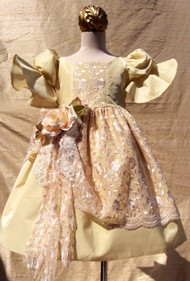 Renaissance Couture Flower Girl Dress | Toddler Flower Girl Dress