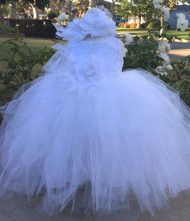White Tutu Dress For Baby | Baby Girl Tutu Dress | Infant Dress