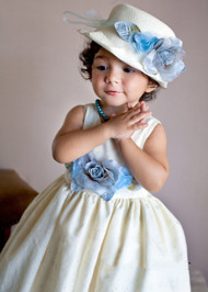 Vintage Couture Flower Girl Dress | Birthday Dress For Toddler