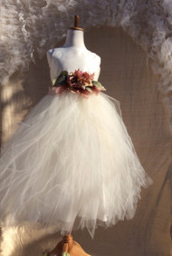 Ivory Tutu Dress For Toddler | Couture Tutu Dress For Girls