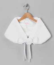 Girls Fur Shawl | Bolero For Girls | Girls Shawl