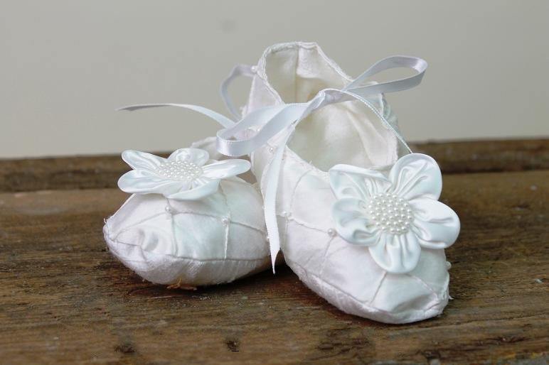 Victorian Christening Shoes For Girls  b38dc40c6b9e