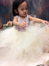 Infant Tutu Dress | Wedding Flower Tutu Dress | Infant Party Dress