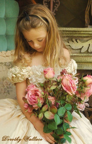 Victorian Couture Girls Dress | Little Girls Special Occasion Dress