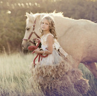 Couture Princess Flower Girl Dress | Girls Special Occasion Dress