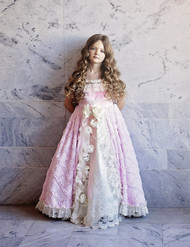 Girls Fairy Tale Princess Couture Gown | Kids Special Occasion Gown
