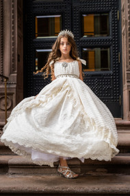 Couture Princess Special Occasion Dress | Girls Couture Dress